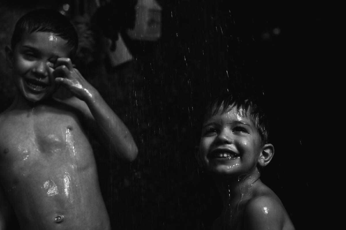 brothers smiling in portrait by megan cieloha