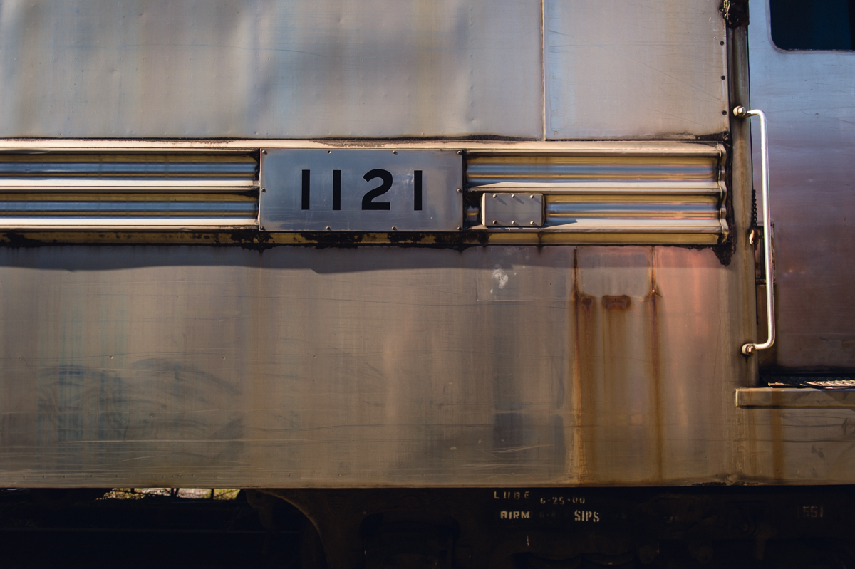 number placard on old train picture by megan cieloha