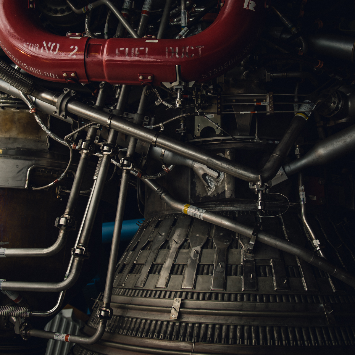 picture of part of rocket engine by megan cieloha
