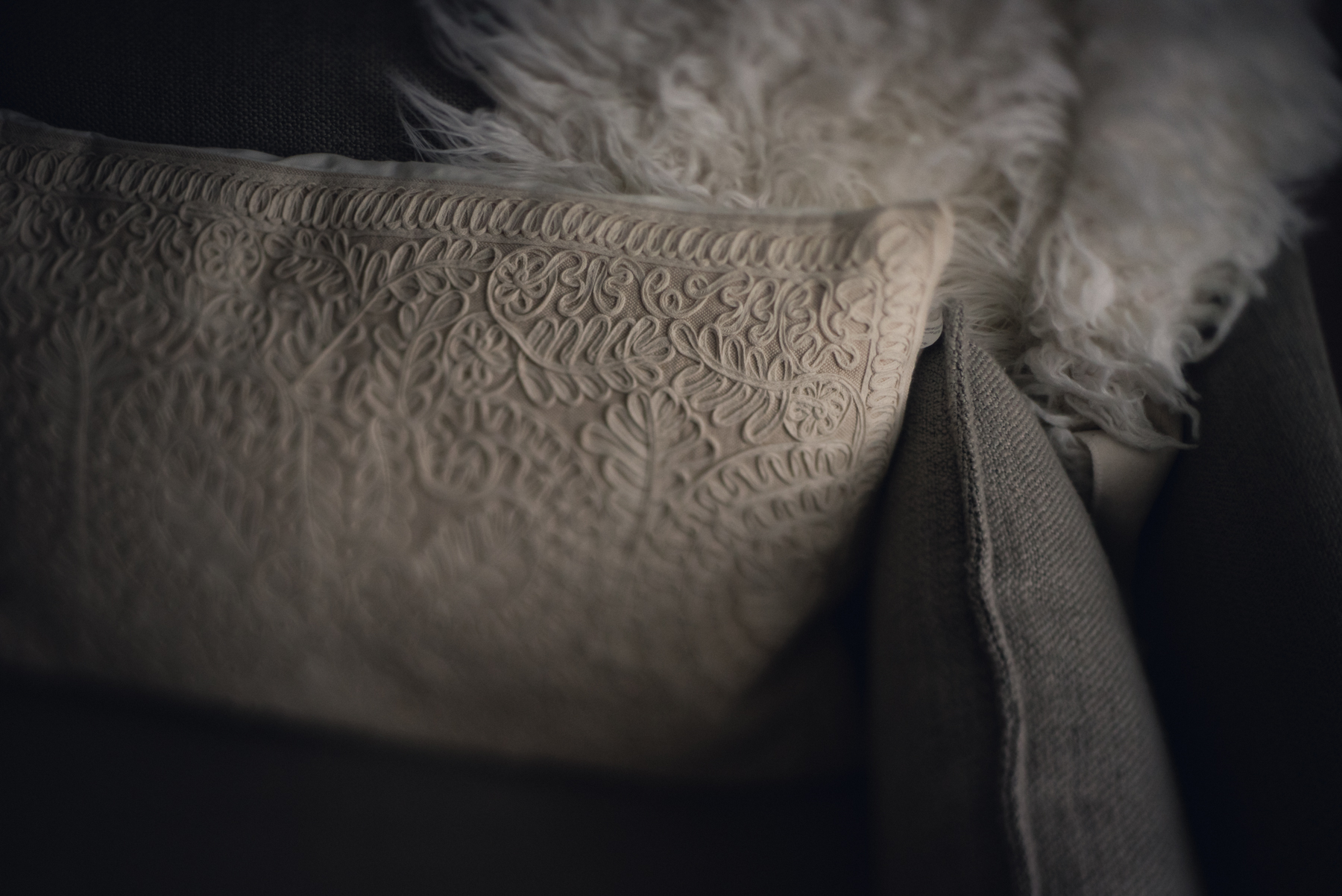 pillows on couch in natural light photo freelensed by megan cieloha