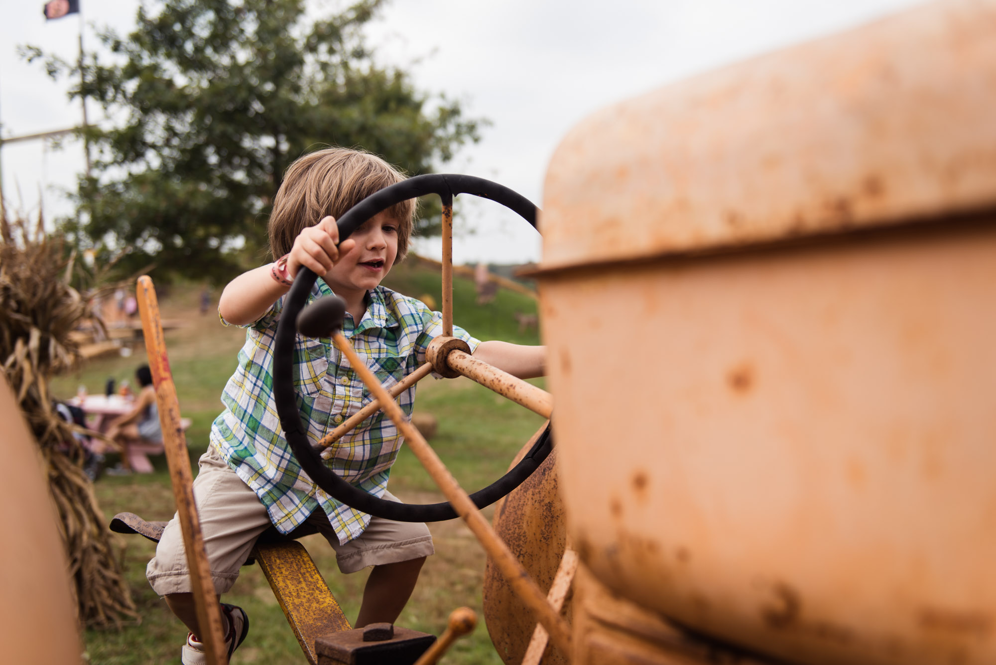 pictures of fall farm activities in Virginia by megan cieloha
