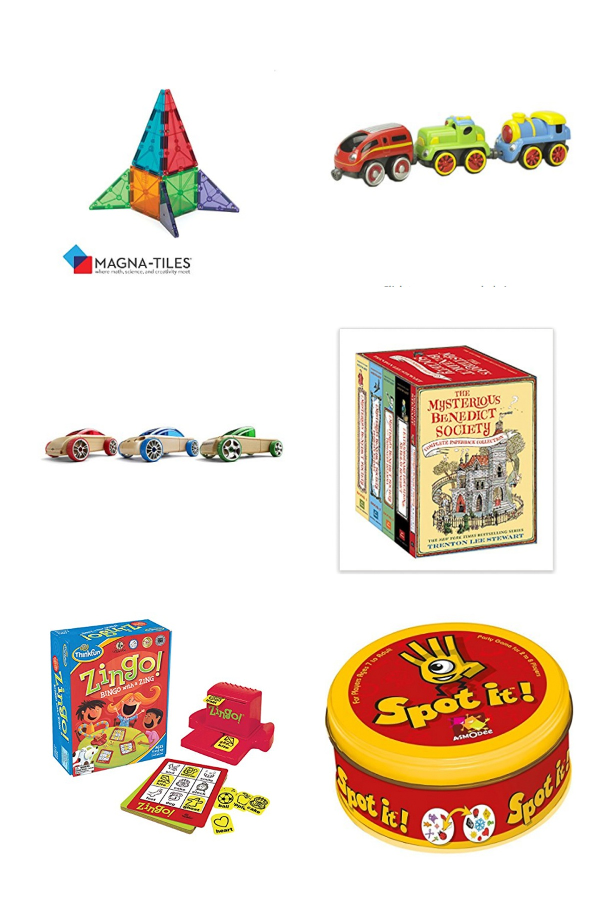 Christmas gift ideas for 4 to 10 year old boys curated from Amazon by megan cieloha