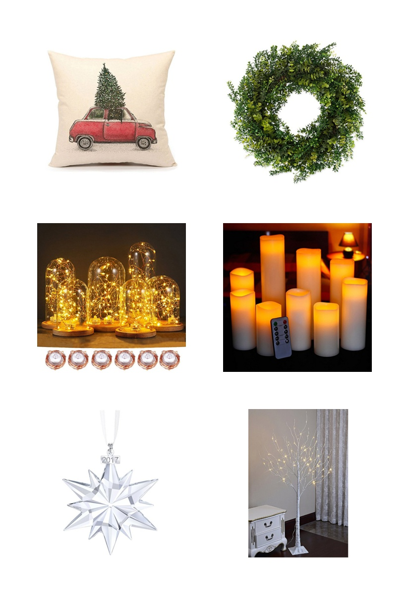 christmas decoration items curated from amazon by megan cieloha